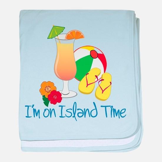 Island Time baby blanket