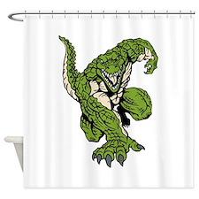 Crocodile Mascot Shower Curtain