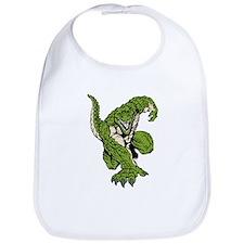 Crocodile Mascot Bib
