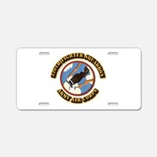 AAC - 320th Fighter Squadron Aluminum License Plat