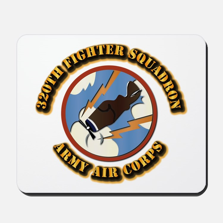 AAC - 320th Fighter Squadron Mousepad