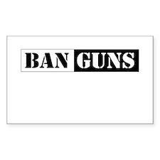 Ban Guns Decal