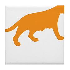 Orange Panther Tile Coaster