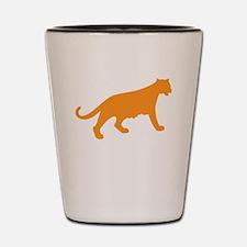 Orange Panther Shot Glass