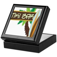 Tiki Bar Keepsake Box