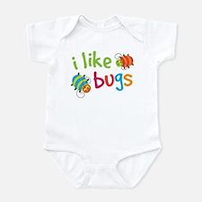 Cute I Like Bugs Infant Bodysuit