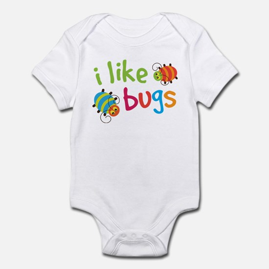 Cute I Like Bugs Infant Bodysuit