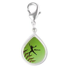 iPitch Fastpitch Softball (right handed) Silver Te