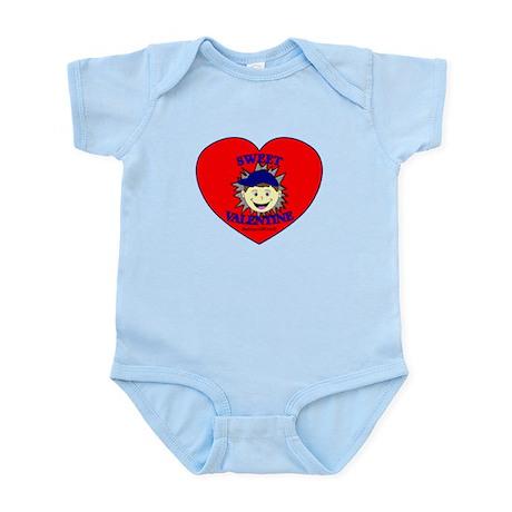 SWEET VALENTINE - BOY Infant Bodysuit