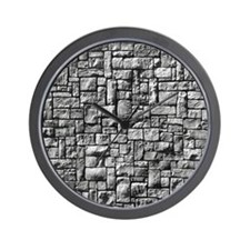 Stone Wall Wall Clock