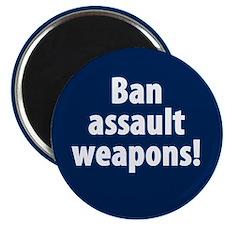 Ban Assault Weapons Magnet