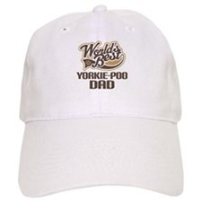 Yorkie-Poo Dog Dad Baseball Cap