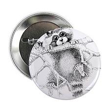 "Raccoon Play 2.25"" Button"