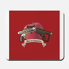 meet at gunpoint Mousepad