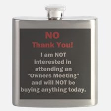 Cute Timeshare Flask