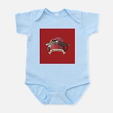 meet at gunpoint Infant Bodysuit