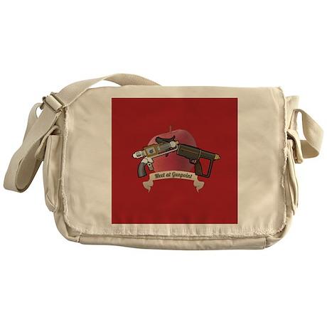 meet at gunpoint Messenger Bag
