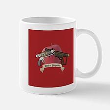 meet at gunpoint Mug