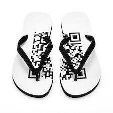 QR Code Flip Flops