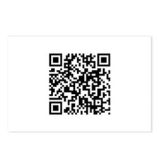 QR Code Postcards (Package of 8)