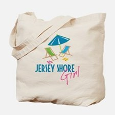 Jersey Shore Girl Tote Bag