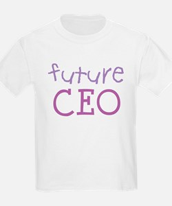 Future CEO Kids T-Shirt