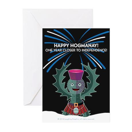 Hogmanay.2 Greeting Cards (Pk of 10)