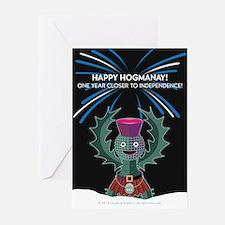 Hogmanay.2 Greeting Cards (Pk of 20)