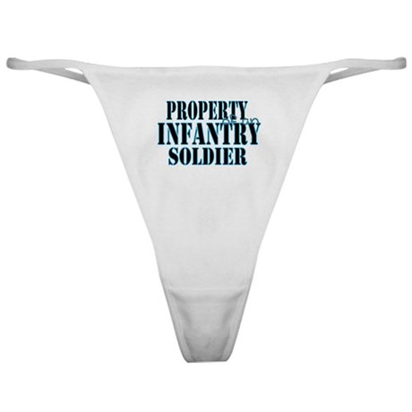 Property of an Infantry Soldi Classic Thong