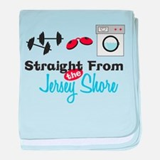 Jersery Shore baby blanket