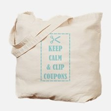 KEEP CALM & CLIP COUPONS Tote Bag