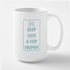 KEEP CALM & CLIP COUPONS Mug
