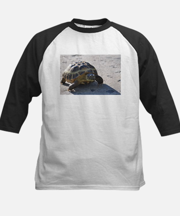 Shelly the tortoise Kids Baseball Jersey