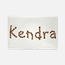 Kendra Coffee Beans Rectangle Magnet