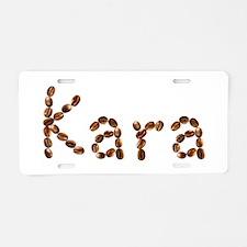 Kara Coffee Beans Aluminum License Plate