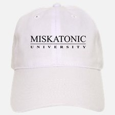 Miskatonic University Baseball Baseball Cap (White)