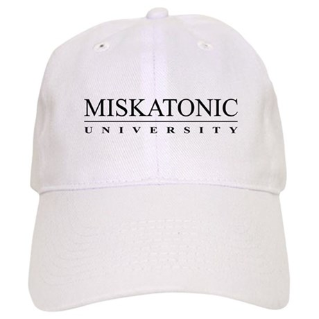 Miskatonic University Cap (White)