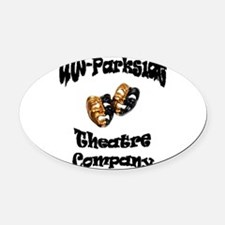 Black Lettering UW Parkside Theater Company Oval C