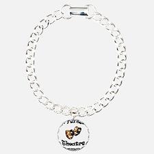 Black Lettering UW Parkside Theater Company Bracelet