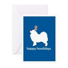 "Samoyed ""Happy Howlidays"" Greeting Cards (Package"