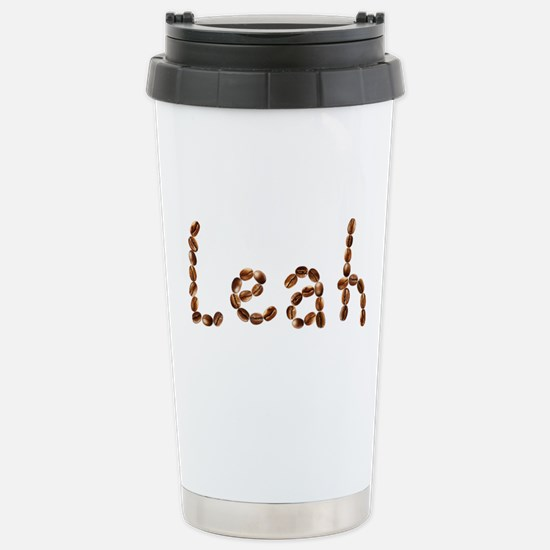 Leah Coffee Beans Stainless Steel Travel Mug