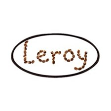 Leroy Coffee Beans Patch