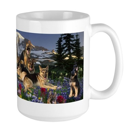German Shepherd Country Mugs