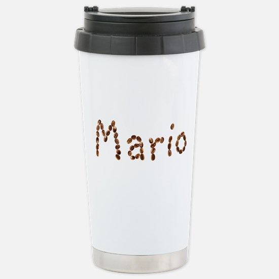Mario Coffee Beans Stainless Steel Travel Mug