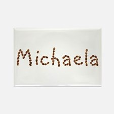 Michaela Coffee Beans Rectangle Magnet