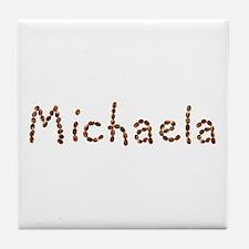 Michaela Coffee Beans Tile Coaster