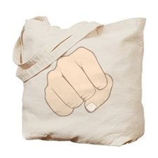 Fist Pump Tote Bag