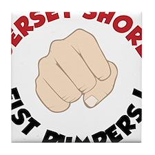 Fist Pumpers Tile Coaster