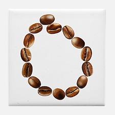 O Coffee Beans Tile Coaster