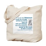 Muhammad Canvas Totes